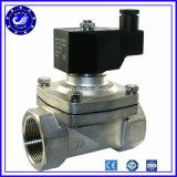 2 válvula de solenóide 12V do aço inoxidável da maneira da polegada 3 24V 240 volts para válvula de solenóide normalmente fechada da irrigação