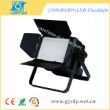 250W DMX LED RGBW Lavado Reflector de la estación de TV