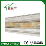 PVC d'or de couleur moulant pour la décoration de porte et de guichet