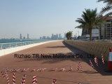 La madera plástica terrazas de madera compuesta para Dubai