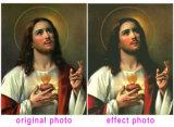 Het Schilderen van de Diamant van de Douane van de foto, DwarsSteek, het Borduurwerk van de Diamant DIY, het Mozaïek van de Diamant, Privé Douane, het Schilderen van de Ambacht, Jesus