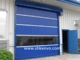 약제 약 공장을%s 문이 고속 PVC 직물에 의하여 위로 구른다