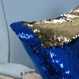 줄무늬 패턴 (MX-01)를 가진 실물대 Sequin 자수 장식적인 방석 또는 베개
