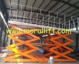 Platform van de Lift van de Schaar van de zware Lading het Stationaire