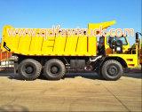 Faw durable 60 toneladas que minan el carro de vaciado