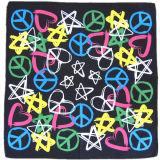 OEM de Opbrengst Aangepaste Ontwerp Afgedrukte Zijde van het Satijn Promoitonal zoals Vierkante Sjaal