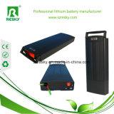 Het achter Pak van de Batterij van het Rek 36V 18ah Li-Ionen voor Ebike Elektrische Fiets Akku