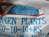 Fertilizzante composto solubile in acqua 20-10-10+8s di 100% NPK