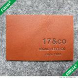 Ursprünglicher Hersteller-Großverkauf-kundenspezifische geprägtes Leder-Änderung am Objektprogramm