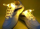Шнурок бега ночи Shine промотирования спортов шнурков СИД пластичный