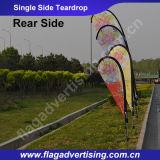 Benutzerdefinierte Single Side Durable Strand Outdoor Flag Teardrop Flags