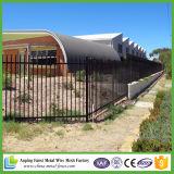 Clôture en acier inoxydable de haute qualité en fer forgé