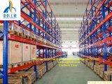 Drive-in rack en Almacén del sistema de almacenamiento