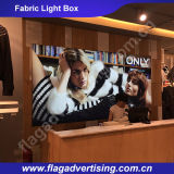 Hotsale Single oder Double Side Sublimationsdruck Stoff LED-Beleuchtung Box