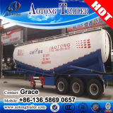 세 배 차축 두바이 의 50cbm 대량 시멘트 트럭 트레일러 (선택 양)에 있는 60 톤 부피 시멘트 유조선 세미트레일러