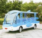Un'automobile facente un giro turistico elettrica dei 14 delfini delle sedi