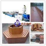 De Lopende band van de Apparatuur WPC Decking/De Lijn van de Apparatuur voor het Maken van Houten Plastic Vloer