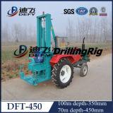 Máquina de perforación de agua de pequeño tipo de tractor en venta