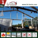 tenda trasparente della tenda foranea di 20X30m con la parte superiore libera del tetto per il partito di lusso