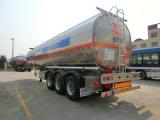 3 de Aanhangwagen van de Tank van de Brandstof van het Aluminium van assen