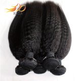 ねじれたまっすぐな8Aバージンの自然なカラーのマレーシアの毛のよこ糸