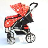 Nuovo passeggiatore stupefacente poco costoso del bambino di stile con il sistema di corsa