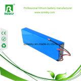 Paquete recargable de la batería de LiFePO4 12V 50ah para la luz de calle solar