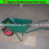 Brouette de roue galvanisée de brouette de construction Wb8601 pour le marché de l'Australie