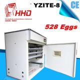 Preço automático da incubadora do ovo de Hhd para 528 ovos (YZITE-8)