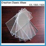 Vidrio de flotador claro adicional de cristal del hierro inferior de cristal blanco estupendo