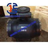 Válvulas de esfera soldadas Wcb industriais do aço de carbono de DIN/ANSI/JIS
