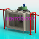 Powder manuale Coating Booth per Car Wheel