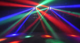 Luz principal movente do efeito do feixe do disco do estágio do diodo emissor de luz