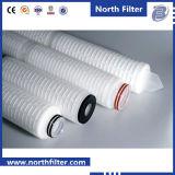 Micro cartuccia di filtro pieghettata di nylon