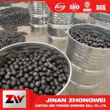 Cromo de la bola del arrabio el alto forjó las bolas de pulido de la explotación minera del acero de bastidor para los media de los molinos del cemento del carbón que molían bolas