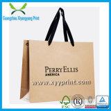 Precio de fábrica famoso de la bolsa de papel de la marca de fábrica de la aduana de la alta calidad y de la suposición