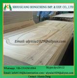 Peau de porte moulée en bois naturel en noyer foncé