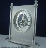 Reloj aplicado con brocha alta calidad K8058se del escritorio del metal