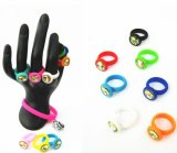 Neuester Ankunfts-Verkaufs-Zoll geprägter Silikon-Ring