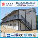 Edificios prefabricados, usados como casa de oficina prefabricada sitio o casa de la comodidad del trabajo