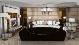 イタリアデザイン贅沢な居間の革ソファーセット