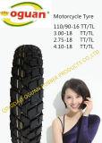 고품질 기관자전차 Tubless 타이어 (300-17)