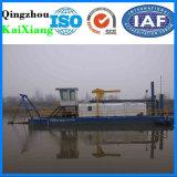 工場供給の川の砂の採鉱設備の浚渫船