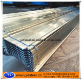 Superficie galvanizada galvanizada cubriendo los materiales de construcción de la hoja