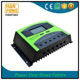 LCD表示が付いている太陽電池パネルのための30A料金のコントローラ