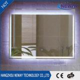 Espejo decorativo encendido a prueba de herrumbre moderno del cuarto de baño LED