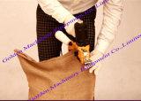 Agregado familiar Overlock industrial da fábrica que tece a máquina Sewing tecida da selagem do saco