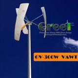 300W de kleine Verticale Uitrusting van de Turbine van de Wind voor Huis