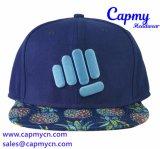 Шлем крышки Snapback Brim печатание с логосом вышивки 3D
