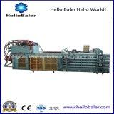Máquina automática de la prensa hidráulica de Hellobaler para el reciclaje de papel
